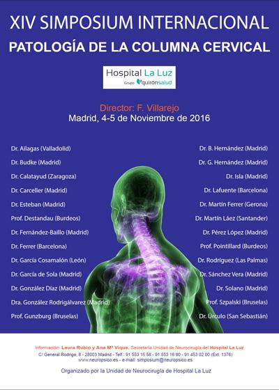 Simposium internacional de la columna vertebral